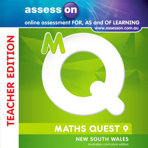 Assesson Maths Quest 9 for New South Wales Australian Curriculum Edition, Stages 5.1 and 5.2 Teacher Edition (Online Purchase)
