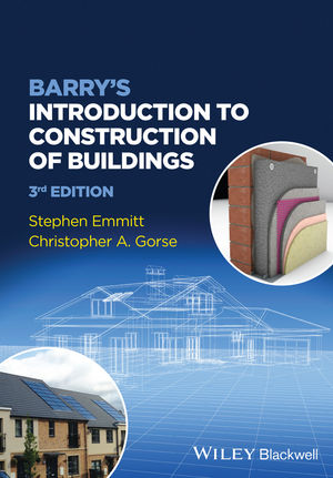 Barry's Introduction to Construction of Buildings, 3rd Edition