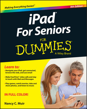 iPad For Seniors For Dummies, 8th Edition (1119141346) cover image