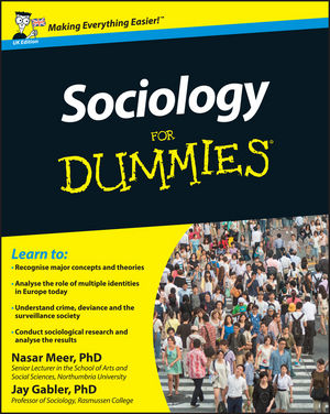 Sociology For Dummies, UK Edition (1119991846) cover image