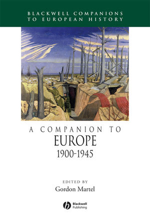 A Companion to Europe 1900-1945 (1405106646) cover image