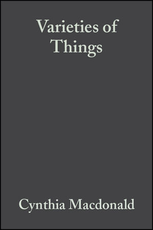 Varieties of Things: Foundations of Contemporary Metaphysics (1405154446) cover image