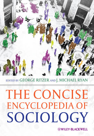 The Concise Encyclopedia of Sociology (1444392646) cover image
