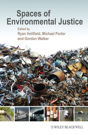 Spaces of Environmental Justice (1444399446) cover image