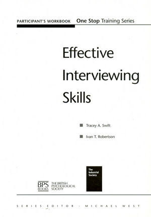 Effective Interviewing Skills Participant Workbook