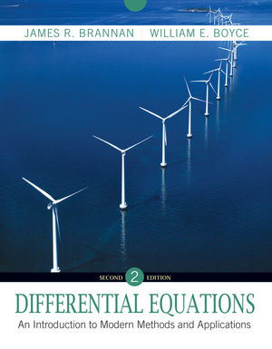 Differential Equations: An Introduction to Modern Methods and Applications, 2nd Edition (EHEP001846) cover image