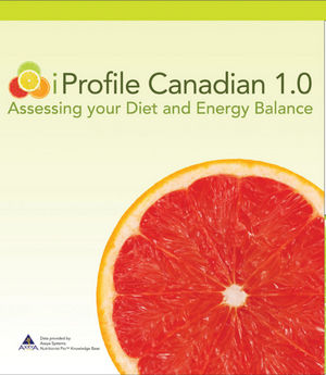 Web Access to iProfile:Canadian 1.0: Assessing Your Diet and Energy Balance (EIPRO00046) cover image