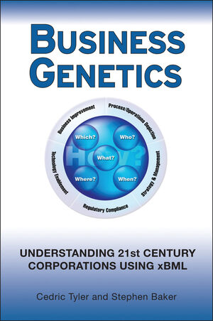 Business Genetics: Understanding 21st Century Corporations using xBML (0470066547) cover image