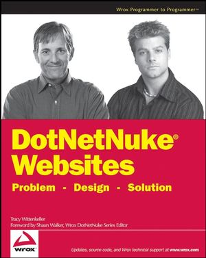 DotNetNuke Websites Problem Design Solution (0470190647) cover image