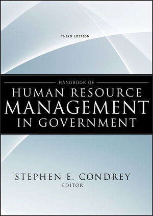 Handbook of Human Resource Management in Government, 3rd Edition