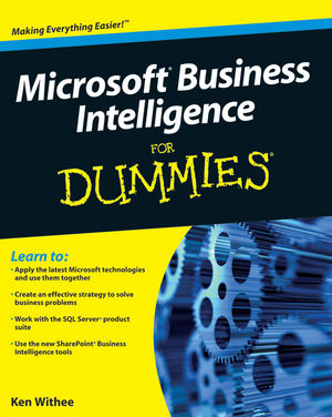 Microsoft Business Intelligence For Dummies (0470606347) cover image