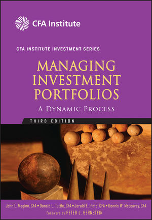 Managing Investment Portfolios: A Dynamic Process, 3rd Edition (0470635347) cover image