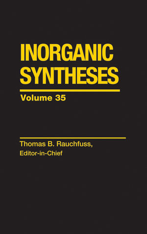 Inorganic Syntheses, Volume 35 (0470651547) cover image