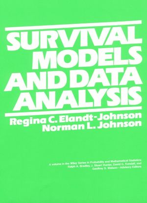 Survival Models and Data Analysis (0471031747) cover image