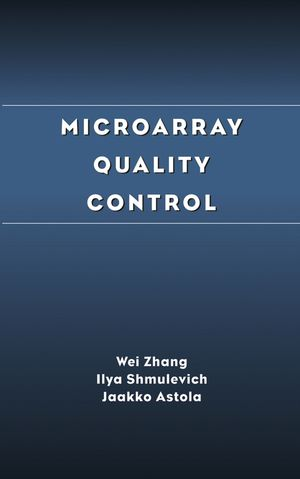 Microarray Quality Control (0471453447) cover image