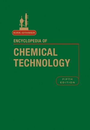 Kirk-Othmer Encyclopedia of Chemical Technology, Volume 19, 5th Edition