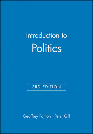 Introduction to Politics, 3rd Edition (0631187847) cover image