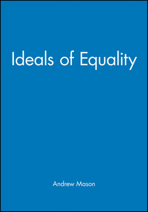 Ideals of Equality (0631207147) cover image