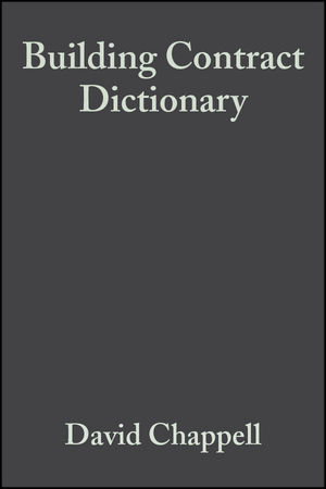 Building Contract Dictionary, 3rd Edition