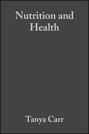 Nutrition and Health (0632058447) cover image
