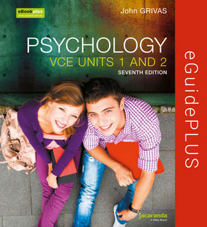 Psychology For The VCE Student Units 1&2 7E eGuidePLUS (Online Purchase)