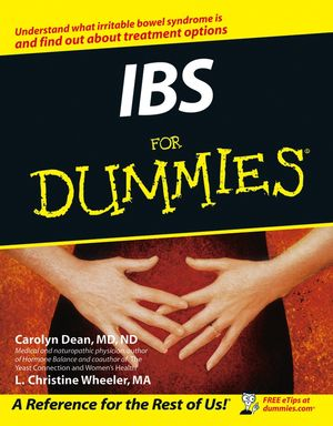 IBS For Dummies (0764598147) cover image