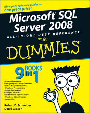 Microsoft SQL Server 2008 All-in-One Desk Reference For Dummies (1118051947) cover image