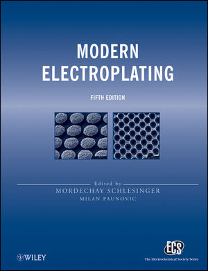 Modern Electroplating, 5th Edition (1118063147) cover image