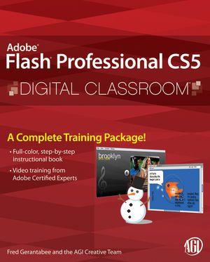 Flash Professional CS5 Digital Classroom (1118064747) cover image