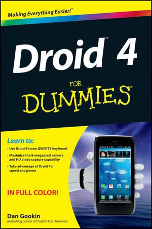 Droid 4 For Dummies (1118336747) cover image