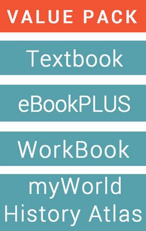 Retroactive 9 Australian Curriculum for History & eBookPLUS + Free Student Workbook + MyWorld History Atlas (Card)