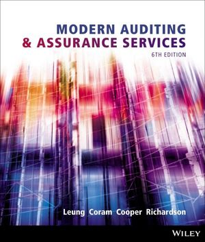 Modern Auditing and Assurance Services, 6th Edition