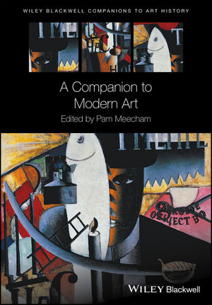 A Companion to Modern Art (1118639847) cover image