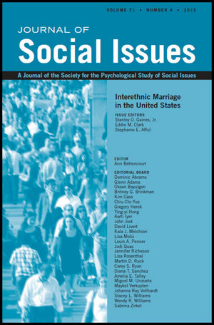 At the Crossroads of Intergroup Relations and Interpersonal Relations: Interethnic Marriage in the United States