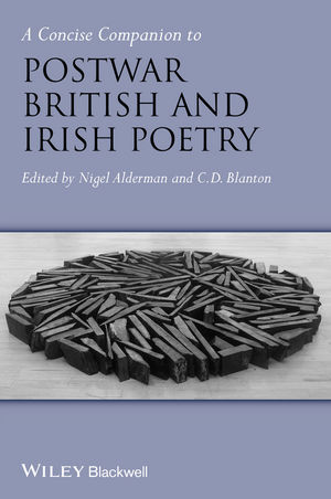 A Concise Companion to Postwar British and Irish Poetry (1405129247) cover image
