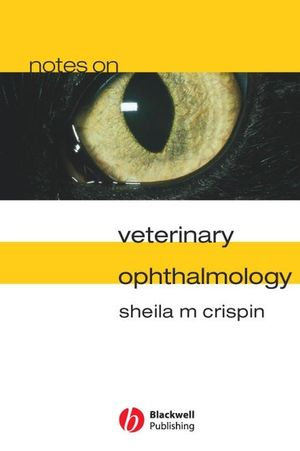 Notes on Veterinary Ophthalmology (1405145447) cover image