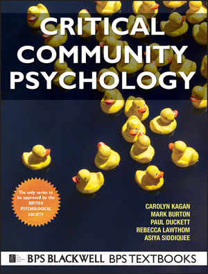 Critical Community Psychology (1405188847) cover image