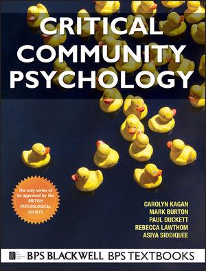 Critical Community Psychology