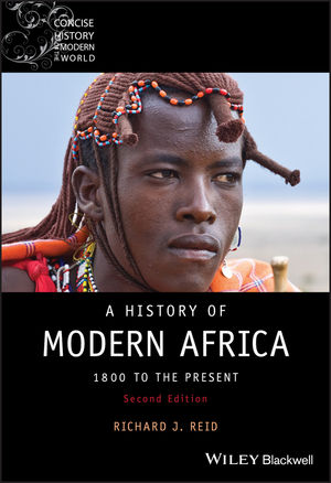 A History of Modern Africa: 1800 to the Present, 2nd Edition (1444355147) cover image