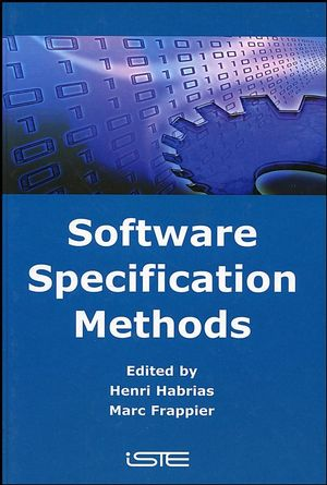 Software Specification Methods (1905209347) cover image