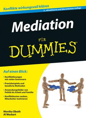 Mediation für Dummies, 2. Auflage
