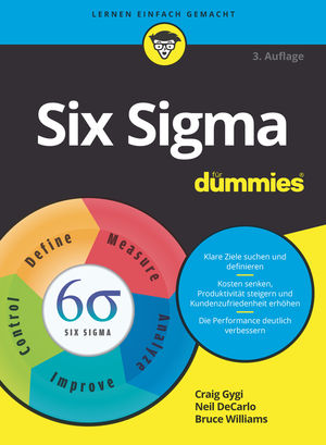 Six Sigma für Dummies, 3. Auflage