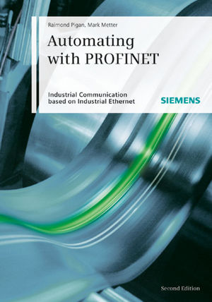 Automating with PROFINET, 2nd Edition (3895782947) cover image