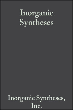 Inorganic Syntheses, Volume 14