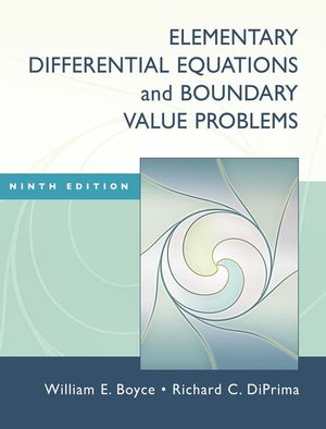 Elementary Differential Equations and Boundary Value Problems, 9th Edition (0470383348) cover image