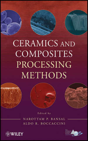 Ceramics and Composites Processing Methods (0470553448) cover image