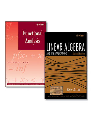 Linear Algebra and Its Applications, Second Edition + Functional Analysis Set