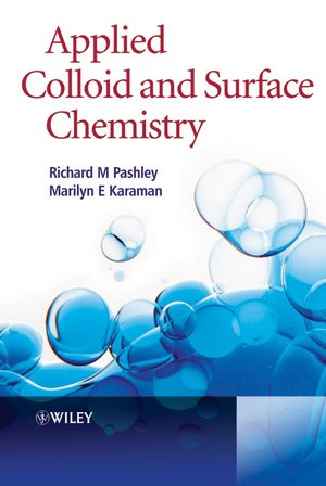 Applied Colloid and Surface Chemistry (0470868848) cover image