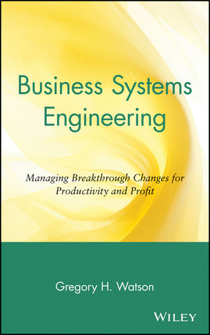 Business Systems Engineering: Managing Breakthrough Changes for Productivity and Profit