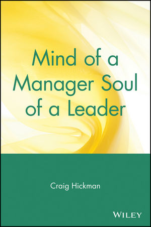 Mind of a Manager Soul of a Leader (0471569348) cover image